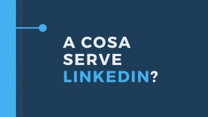 A COSA SERVE LINKEDIN