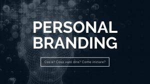 personal branding significato