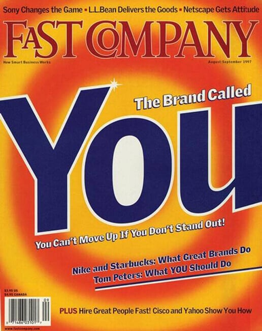 The Brand Called You Tom Peters Personal branding per il manager Stefano Pisoni