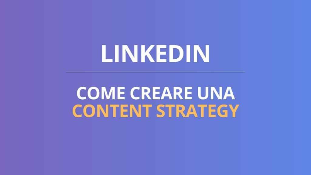 contenuti linkedin