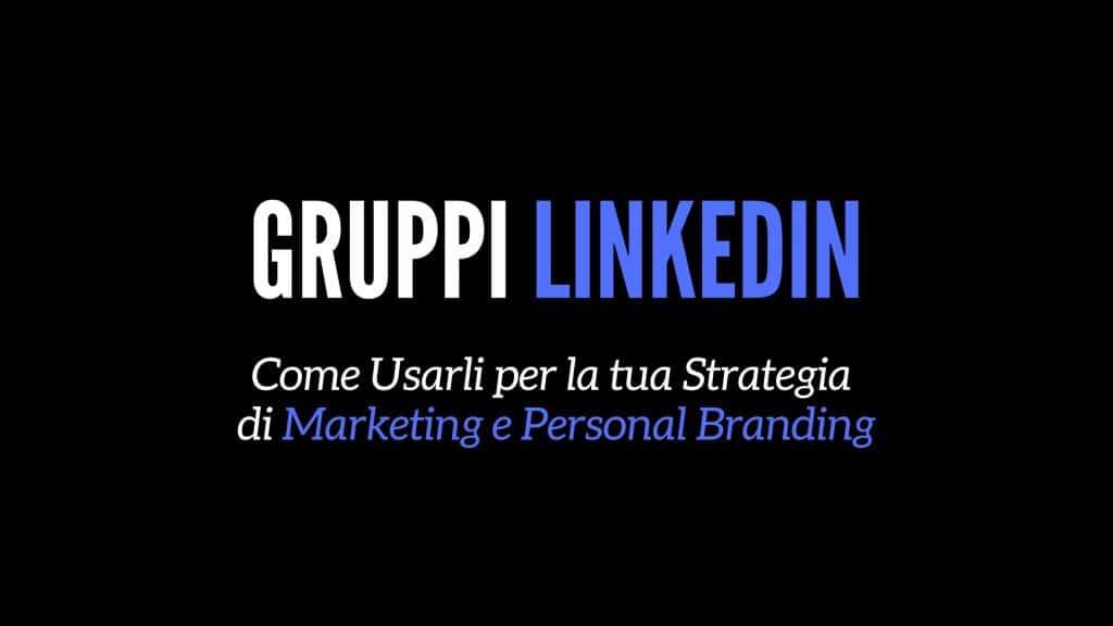 gruppi LinkedIn