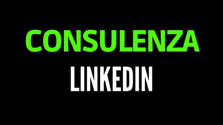 consulenza linkedin
